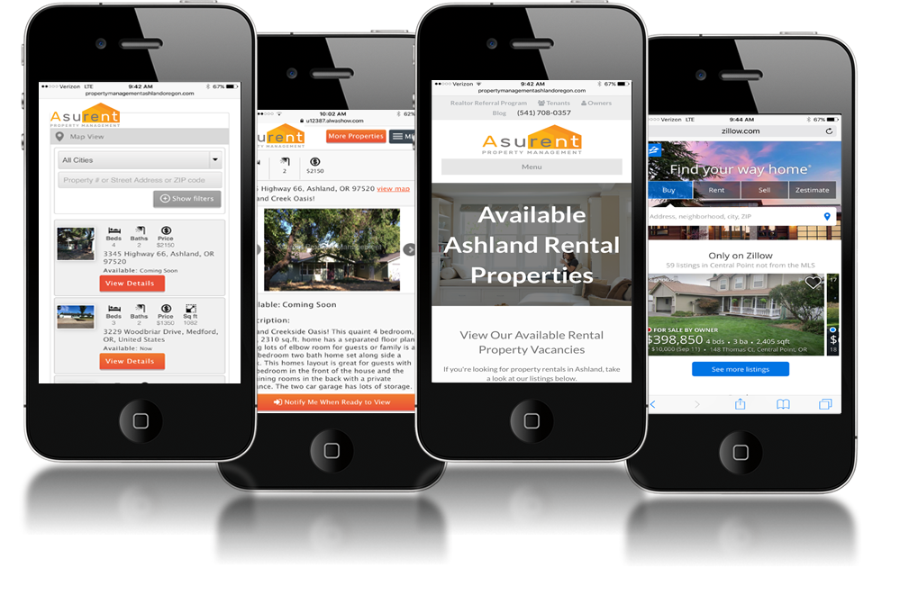 Asurent Ashland Property Management Mobile Technology