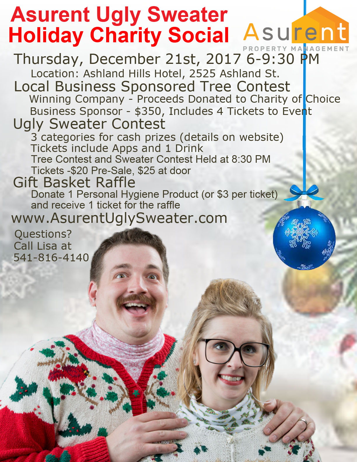 Ugly Sweater Event Flyer - Final1
